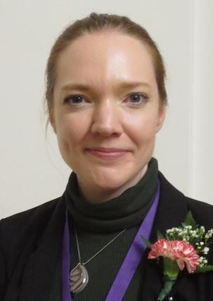 Portland Board of Education Chair Anna Trevorrow